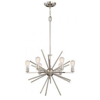 lampa led - żyrandol nowoczesny z żarówkami