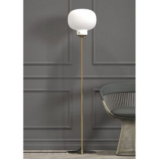 Lampa podłogowa Raito do nowoczesnego salonu