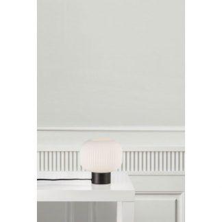 Lampa stołowa Milford na stolik w salonie