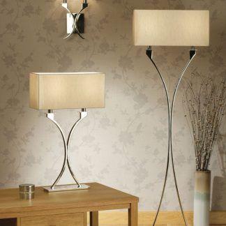 Lampa stołowa Vienna do sypialni i salonu