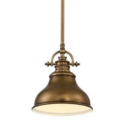 lampa styl loft - klosz industrialny
