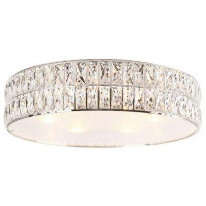 Lampa sufitowa Diamante do urokliwej sypialni