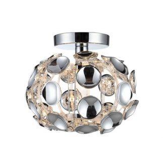 Lampa sufitowa Ferrara do pięknego salonu