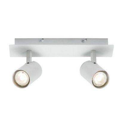 lampa natynkowa - reflektorek sufitowy podwójny