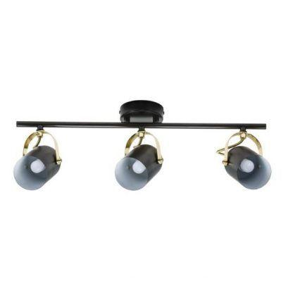 lampa sufitowa - 3 klosze do salonu
