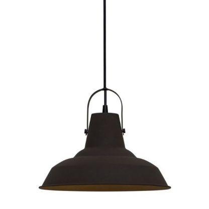 metalowa industrialna lampa wisząca - mała