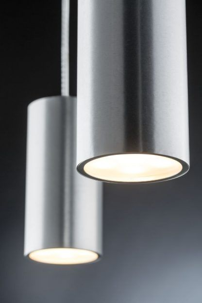 nowoczesna lampa wisząca srebrne tuby
