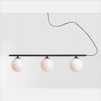 Lampa Beryl nad długi stół w jadalni