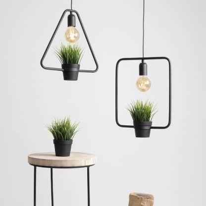 Lampa wisząca Eko Green do kuchni lub sypialni