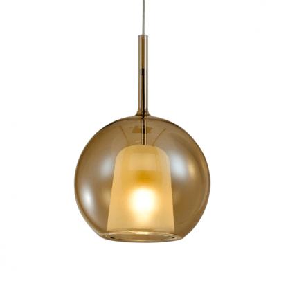 Lampa wisząca Euforia nad szafkę w sypialni