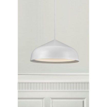 biała lampa