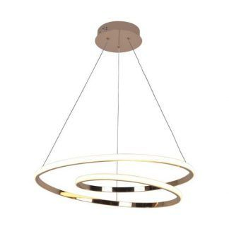 Lampa wisząca Ilusion nad stół w jadalni