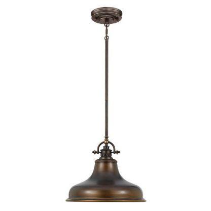 lampa wisząca industrialna - loftowa kuchnia