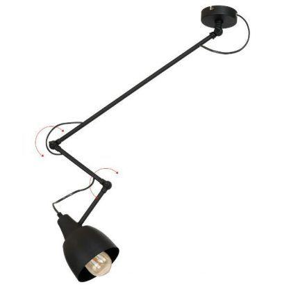 lampa wisząca na wysięgniku regulowane ramię