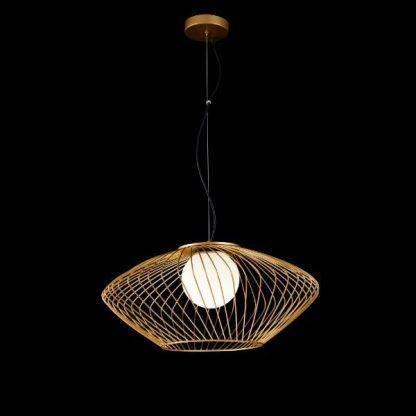 Lampa wisząca Plec do pokoju dziennego