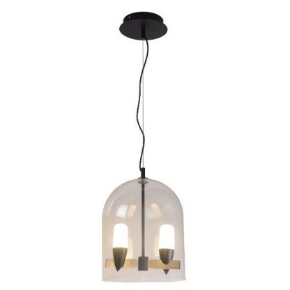 Lampa wisząca Sakai jako ozdoba salonu