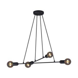 Lampa wisząca Sitya nad biurko w gabinecie