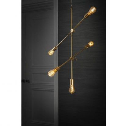 Lampa wisząca Sticks do pokoju dziennego