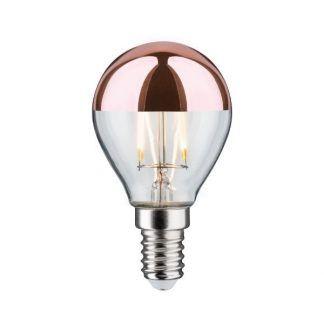 Miedziana żarówka Crown Mirror do lamp bez klosza