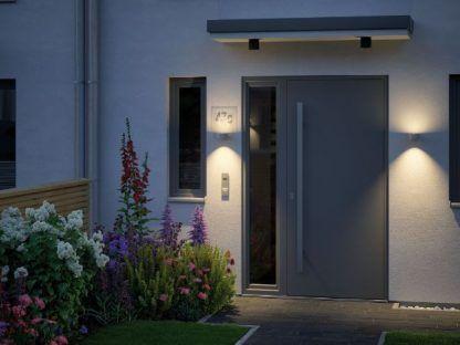 oświetlenie drzwi wejściowych aranżacja