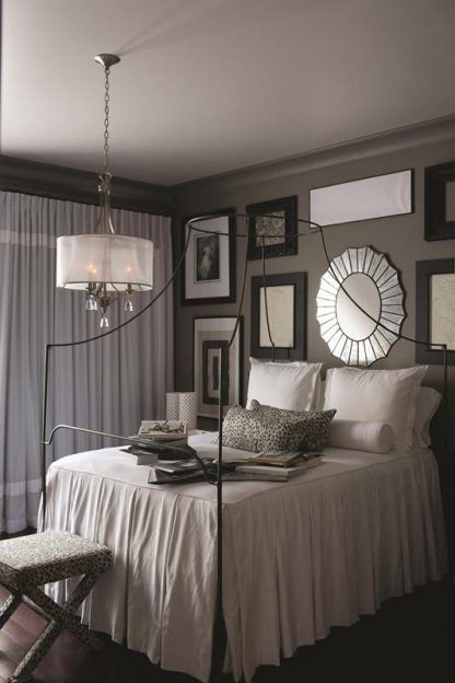 piękna lampa wisząca do sypialni - aranżacje i zdjęcia