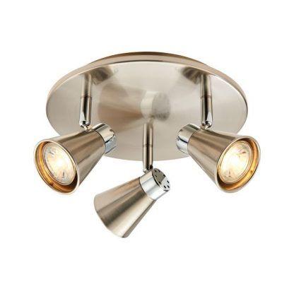 potrójna lampa do pokoju dziecka - piękne reflektory