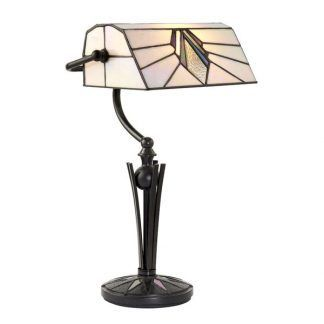 stołowa lampa witrażowa