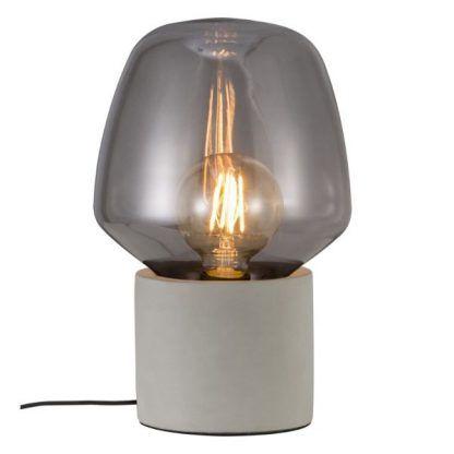 transparentne szkło - klosz lampy stojącej