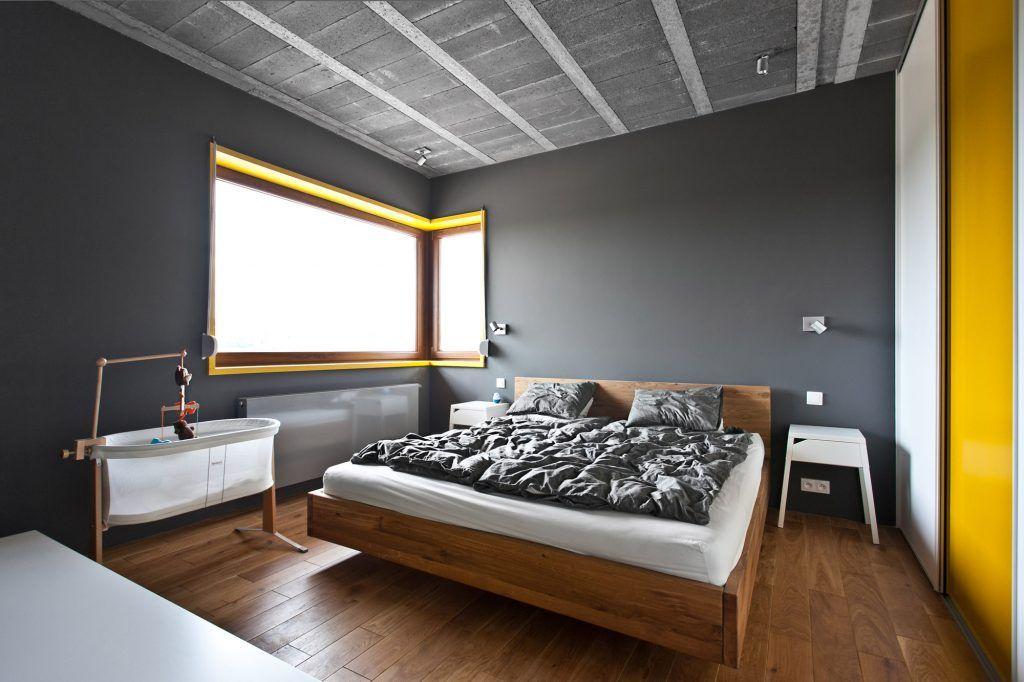 4-minimalistyczne-oświetlenie-szarej-sypialni-reflektorki