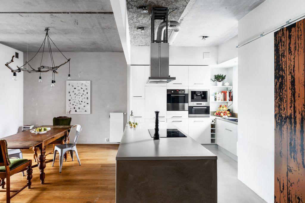 9-oświetlenie-kuchni-i-jadalni-loftowe-wnętrze