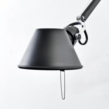 czarna lampa z regulacją nowoczesna