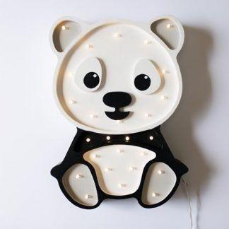 kinkiet słodka panda do pokoju dziecięcego