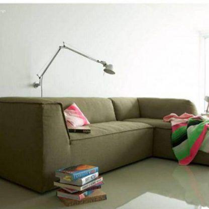 Kinkiet Tolomeo Braccio Parete nad sofę do salonu