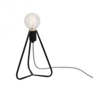 lampa stołowa druciana industrialna