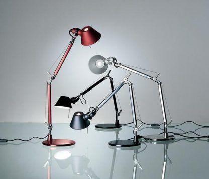 Lampa stołowa Tolomeo Micro Tavolo do gabinetu