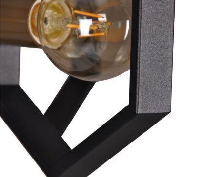 lampa wisząca czarne wielościany