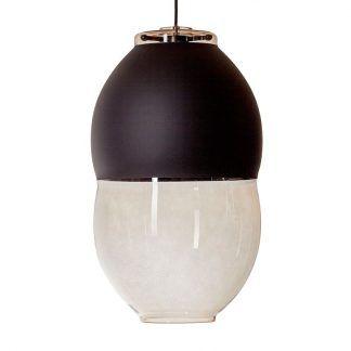 Lampa wisząca Miranda Long do nowoczesnej sypialni