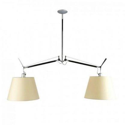 Lampa wisząca Tolomeo Basculante 2 Bracci do salonu