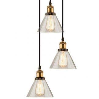 loftowa industrialna lampa wisząca do kuchni