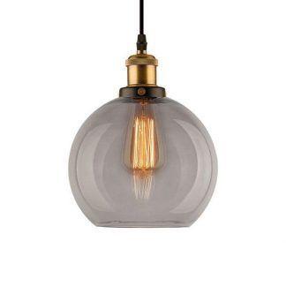 loftowa szklana lampa do kuchni