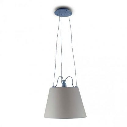 nowoczesna lampa wisząca z regulowanymi linkami