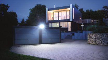 nowoczesne oświetlenie zewnętrzne naświetlacz