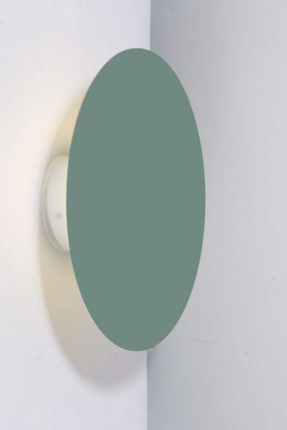 nowoczesny kinkiet pastelowa zieleń