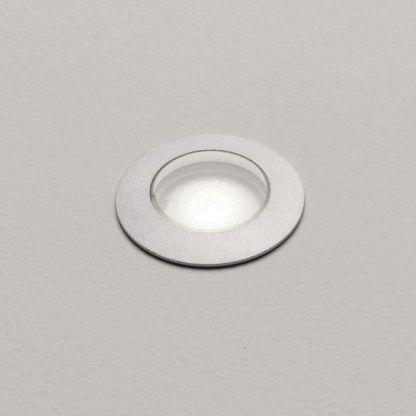 oczko podłogowe srebrna oprawka