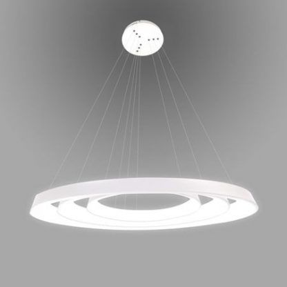 okrągła lampa wisząca led regulowane ringi