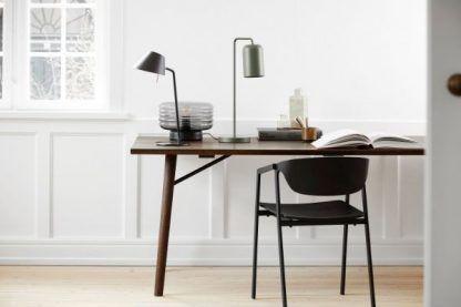 oświetlenie biurka aranżacja skandynawska
