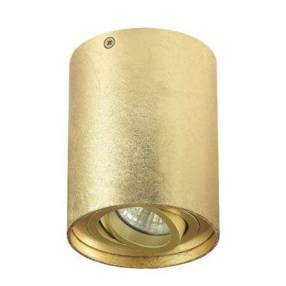 regulowane oczko sufitowe złote