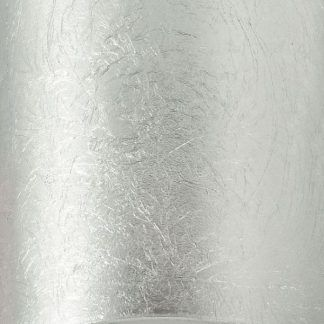 srebrna lampa sufitowa