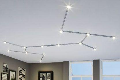 system szynowy oświetlenie schemat