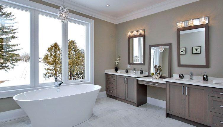 oświetlenie ścian w łazience - aranżacje i zdjęcia